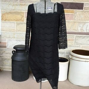 White House Black Market Lace Cocktail Dress